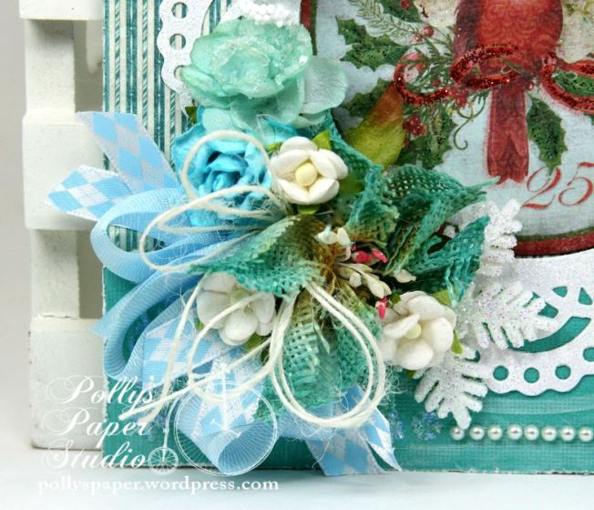 Winter Birds Christmas Greeting Card 3