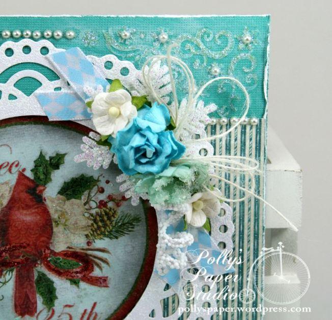 Winter Birds Christmas Greeting Card 4