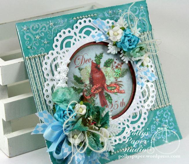 Winter Birds Christmas Greeting Card 5