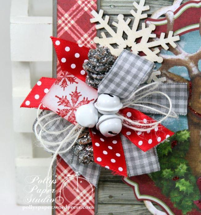 Woodland Deer Christmas Greeting Card 4
