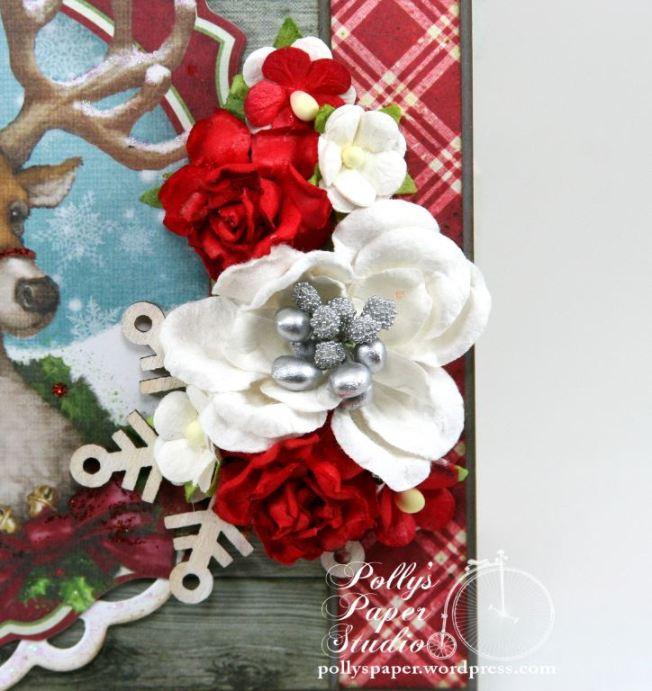 Woodland Deer Christmas Greeting Card 5