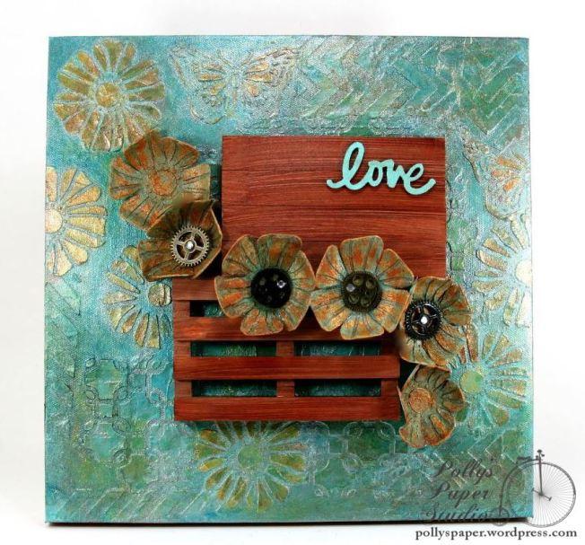 Art-C Altered Art Love Frame 1