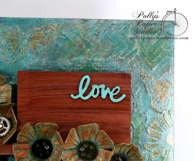 Art-C Altered Art Love Frame 4