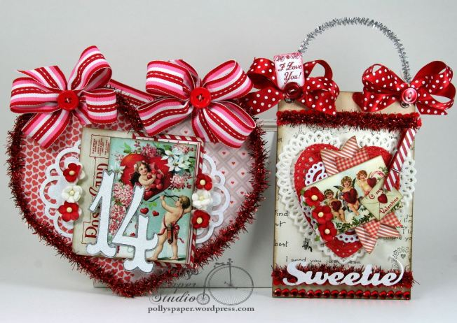 Charming Cherubs Valentine Creativity Kit 4