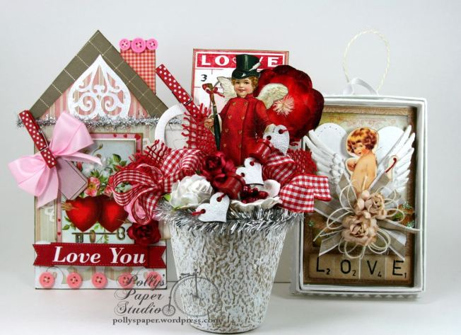 Charming Cherubs Valentine Creativity Kit 5