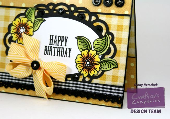 Happy Birthday Card Crafter's Companion CHA Sample  Watermark2