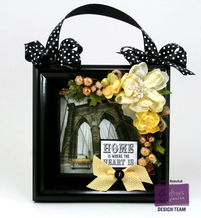 home sweet home Decor Frame Crafter's Companion