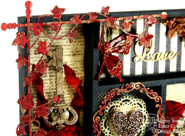 Love & Cherish Printer Tray Gypsy Soul Laser Cuts 3