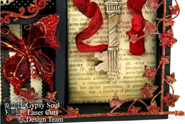 Love & Cherish Printer Tray Gypsy Soul Laser Cuts 5