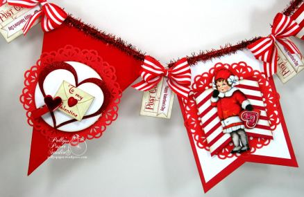 Retro Valentine Banner Kit 2016 1