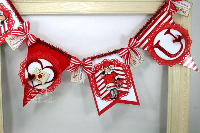 Retro Valentine Banner Kit 2016 3