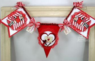 Retro Valentine Banner Kit 2016 4