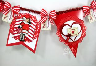 Retro Valentine Banner Kit 2016 5