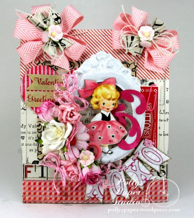 Valentine Greetings Wall Hanging 1