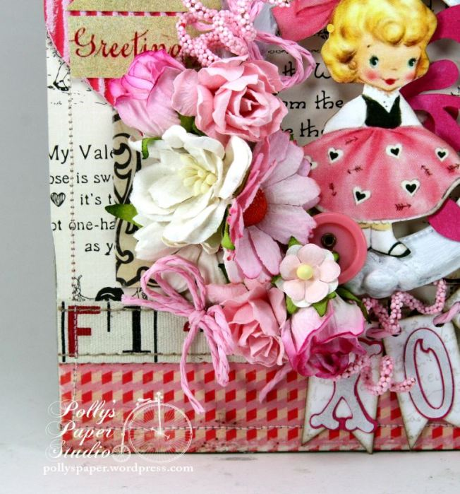 Valentine Greetings Wall Hanging 2