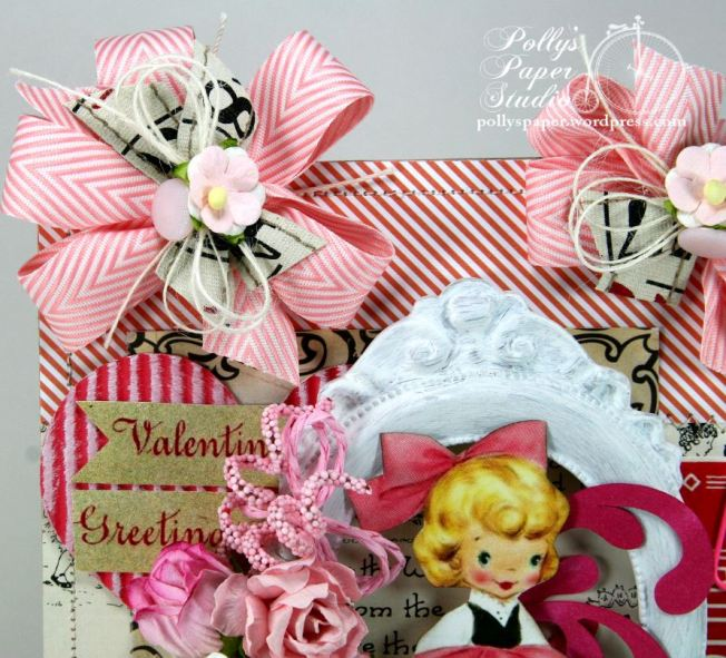 Valentine Greetings Wall Hanging 4