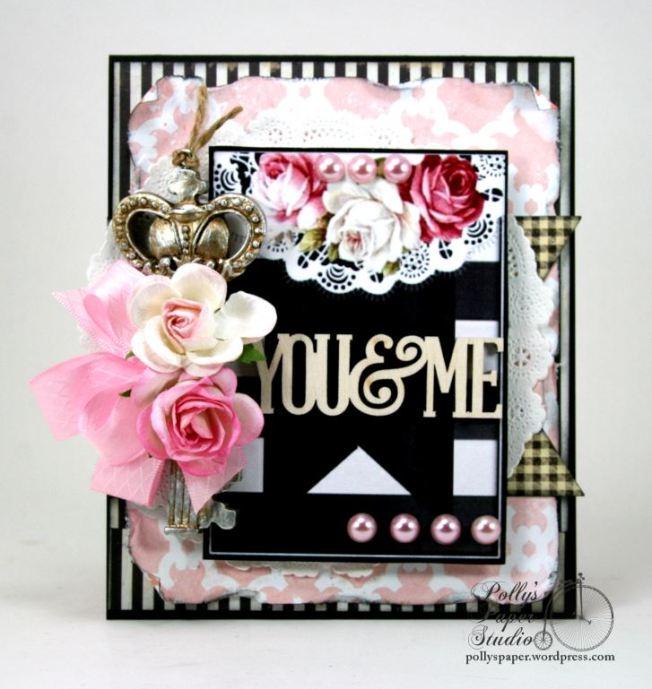 You & Me Key Valentine Card 1