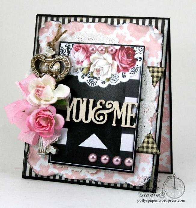 You & Me Key Valentine Card 2