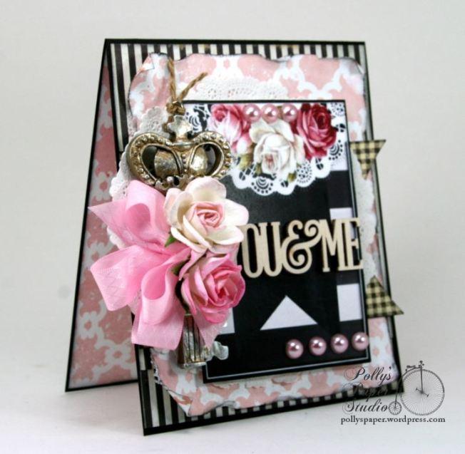 You & Me Key Valentine Card 3
