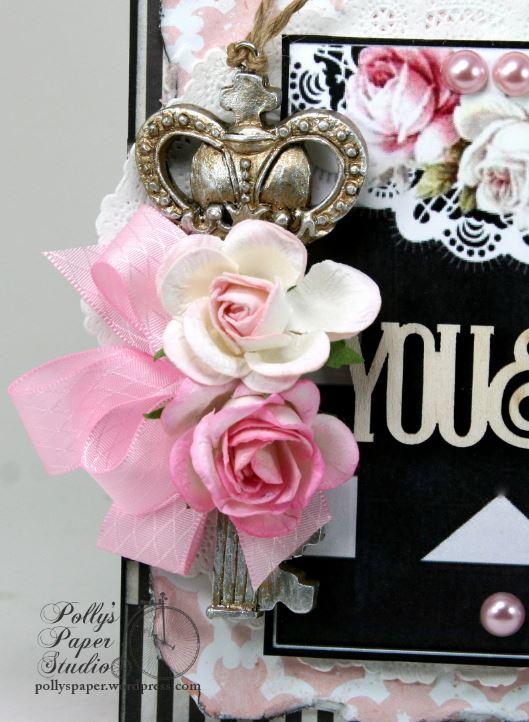 You & Me Key Valentine Card 4