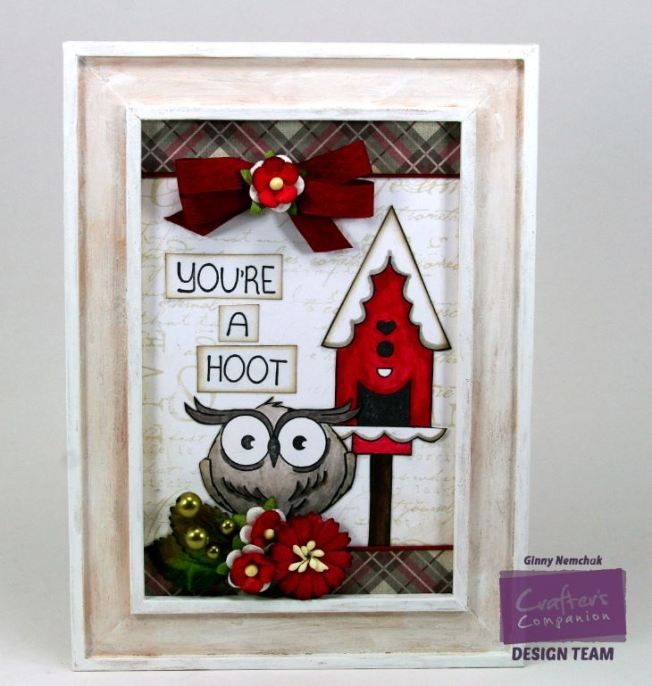 You're a Hoot Home Decor Crafter's Comapnion CHA Sample 1
