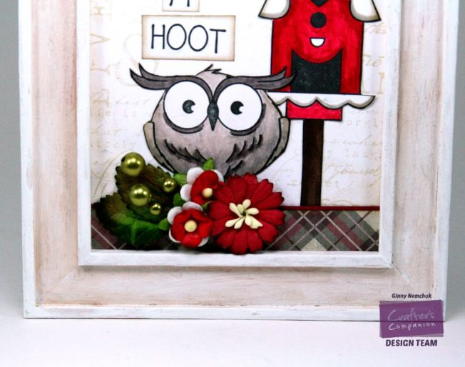 You're a Hoot Home Decor Crafter's Comapnion CHA Sample 2