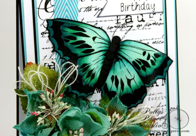 butterfly birthday card 5