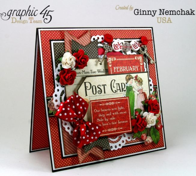 Childrens Hour Graphic 45 Valentine Card Ginny Nemchak 2