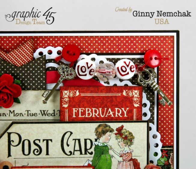Childrens Hour Graphic 45 Valentine Card Ginny Nemchak 5