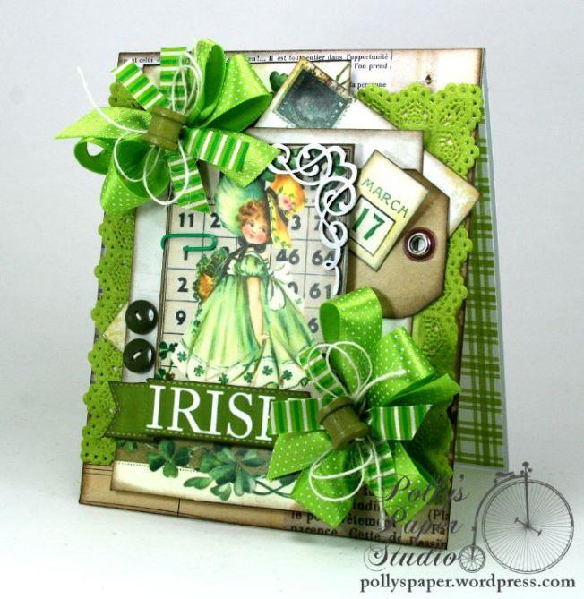 Irish Bingo Saint Patrick's Day Card 1