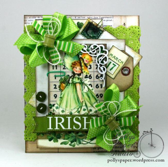 Irish Bingo Saint Patrick's Day Card 2