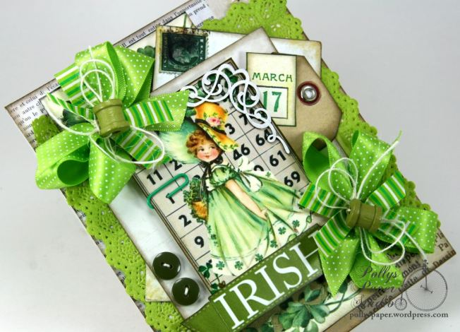 Irish Bingo Saint Patrick's Day Card 4