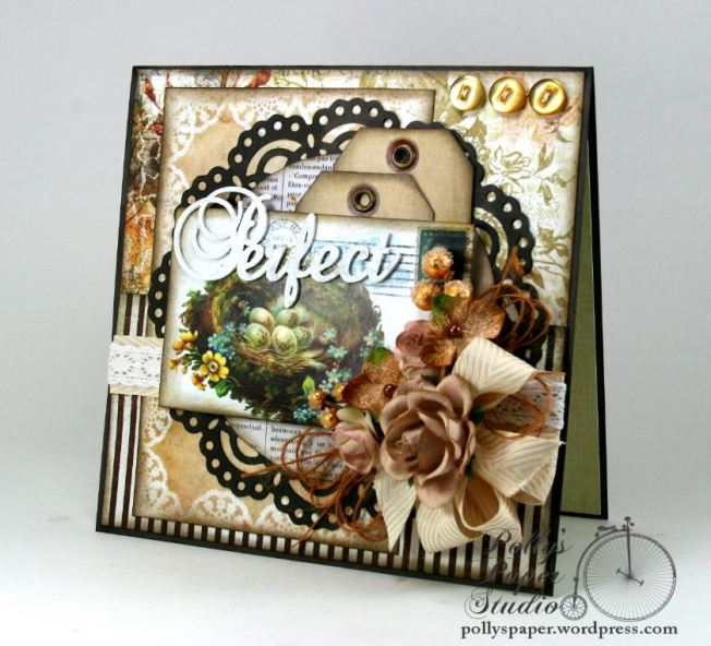 Perfect Nest Greeting Card Handmade 1