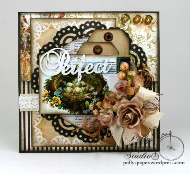 Perfect Nest Greeting Card Handmade 3
