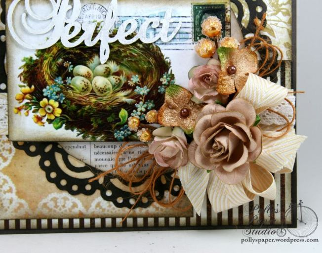 Perfect Nest Greeting Card Handmade 4