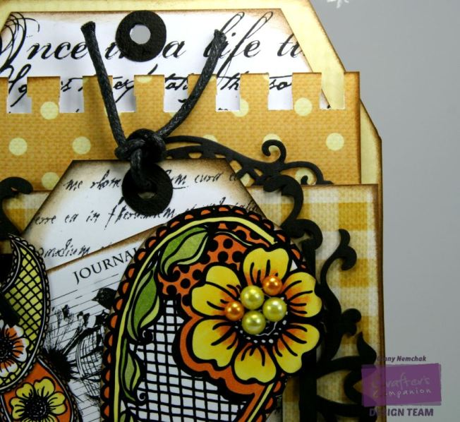 A Taste of India Mixed Media Tag 3