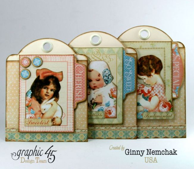 Happy Easter Pocket Graphic 45 Precious Memories Ginny Nemchak 3