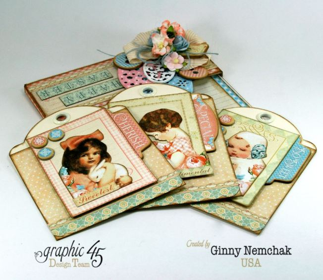 Happy Easter Pocket Graphic 45 Precious Memories Ginny Nemchak 4