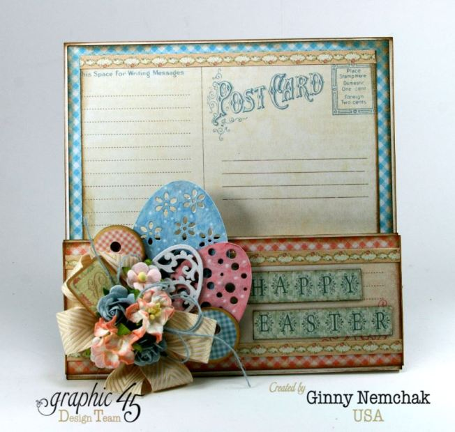 Happy Easter Pocket Graphic 45 Precious Memories Ginny Nemchak 5