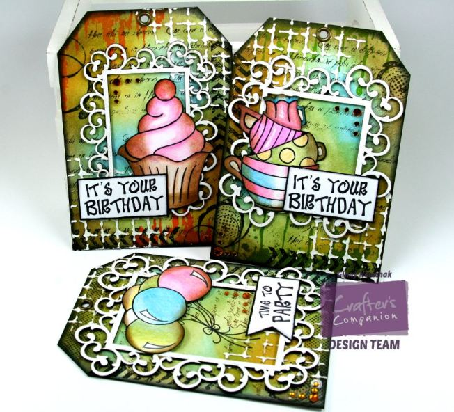 Party Time Tags 1 Crafter's Companion Watermark