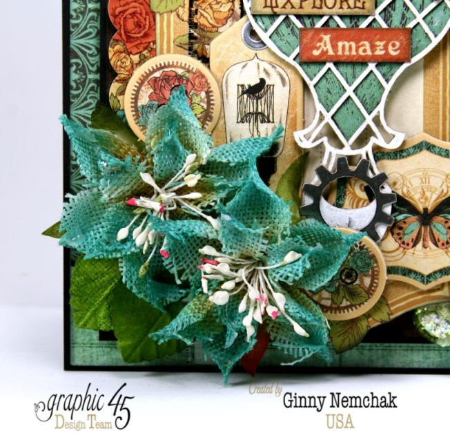 Steampunk Debutante Dream Card Ginny Nemchak Graphic 45 2