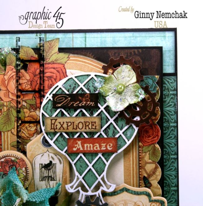 Steampunk Debutante Dream Card Ginny Nemchak Graphic 45 3