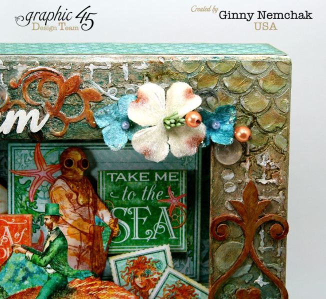 Voyage Beneath The Sea Mixed Media Matchbook Box Graphic 45 6