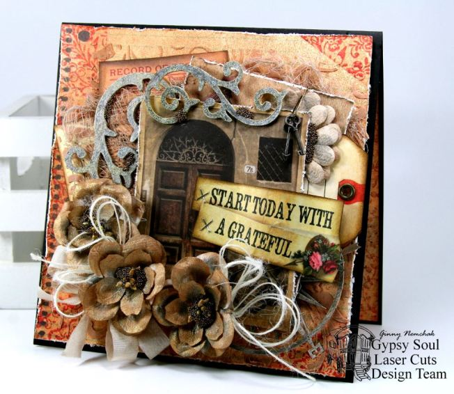 A Greatful Heart Greeting Card 1