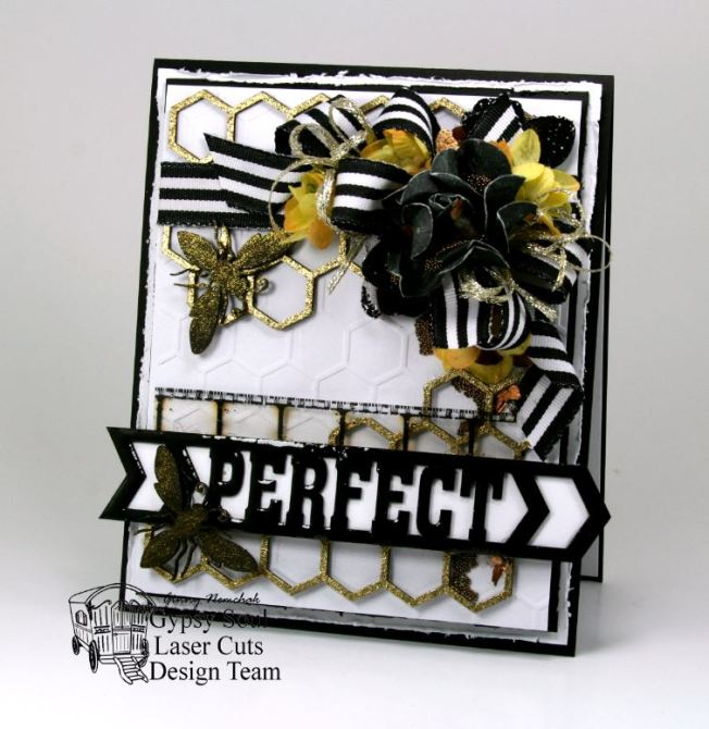 Bee Perfect Greeting Card 1