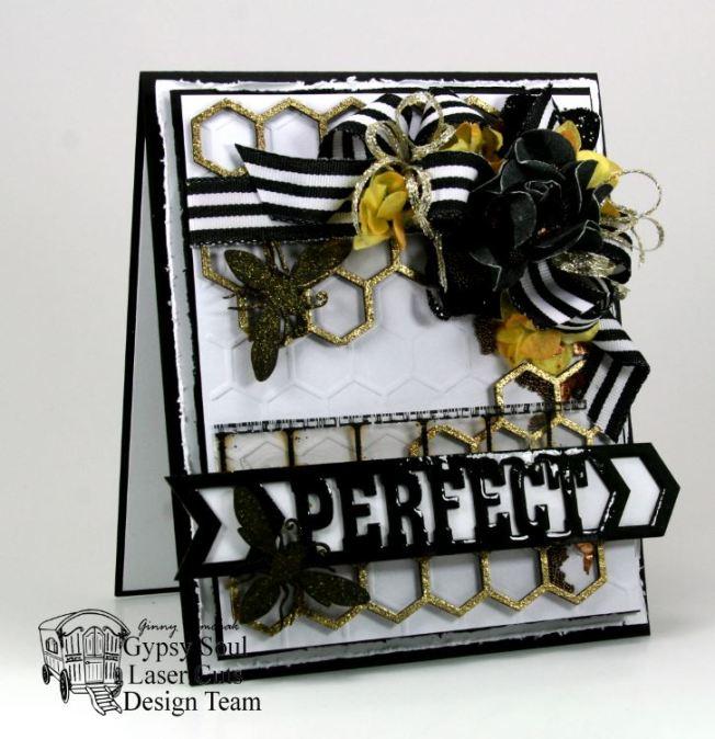 Bee Perfect Greeting Card 2