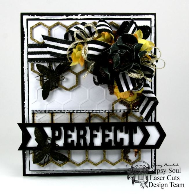 Bee Perfect Greeting Card 3