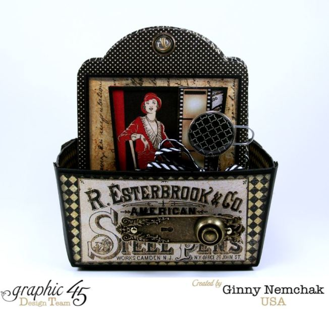 Commuique Box With Tags Graphic 45 Ginny Nemchak Communique 1