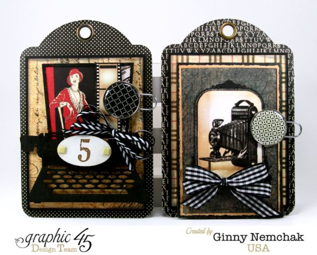 Commuique Box With Tags Graphic 45 Ginny Nemchak Communique 3