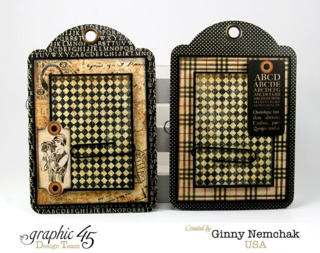 Commuique Box With Tags Graphic 45 Ginny Nemchak Communique 4